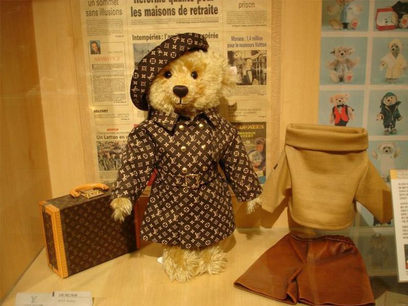 медведь Steiff Teddy Bear от Louis Vuitton