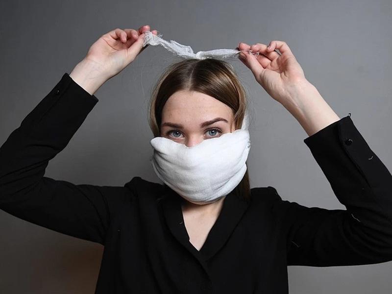 надевать маску, чтобы не заразиться