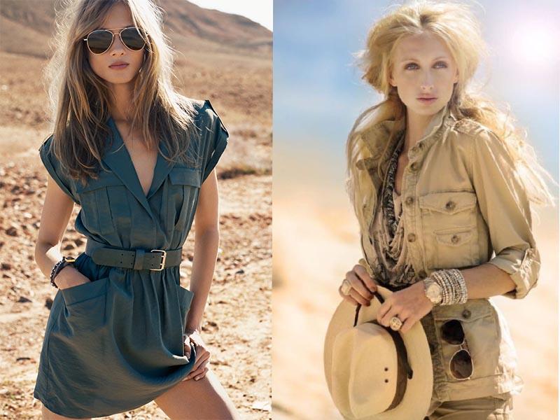 Стиль Сафари в одежде: актуальные образы, как носить и с чем сочетать
