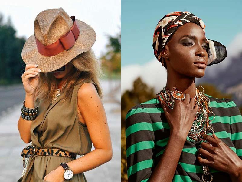 Шляпы в стиле Сафари