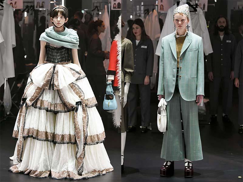 Gucci Неделя Моды в Милане