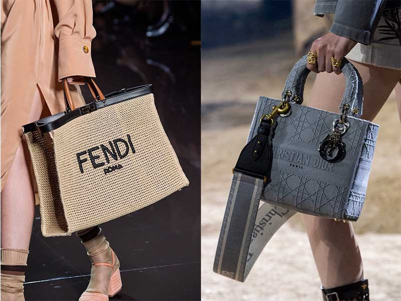 сумки с логотипами брендом