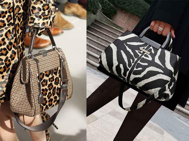 сумка под леопарда