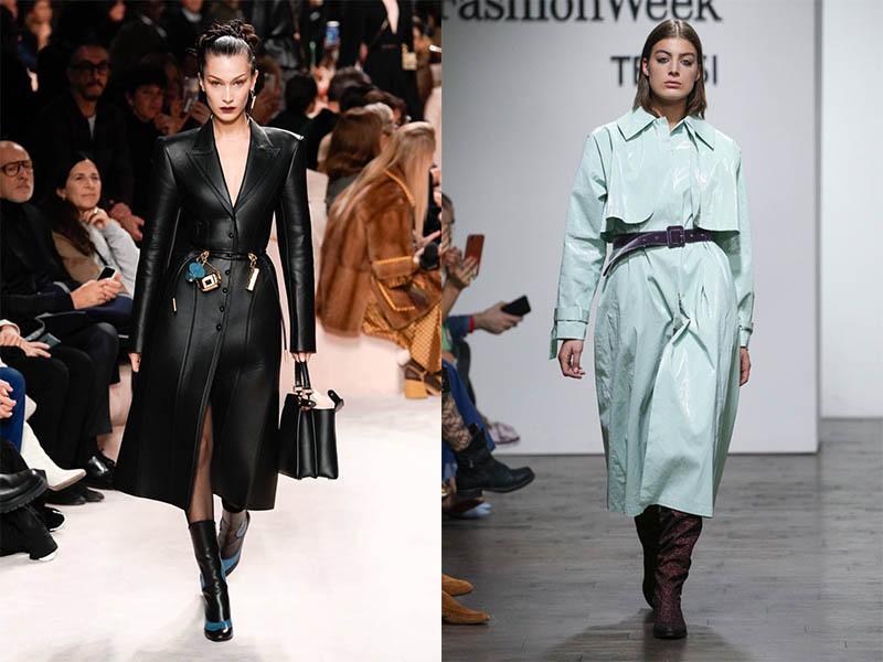 модные плащи осень 2020