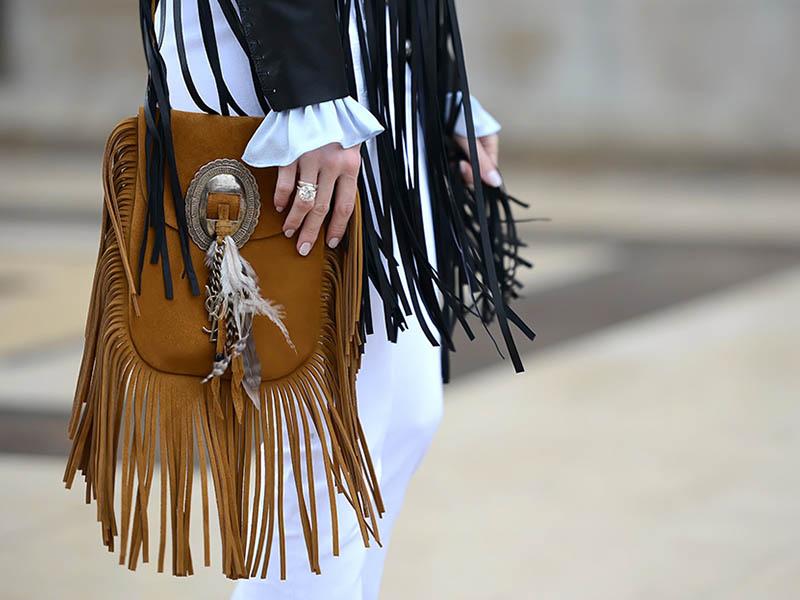 сумки с бахромой