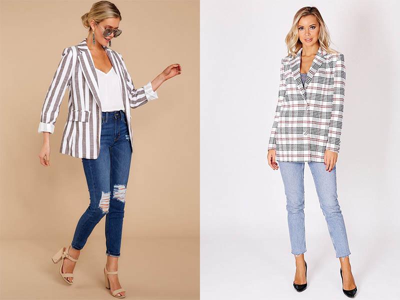 модный клетчатый пиджак 2020 2021